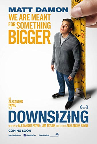Lionbeen Downsizing Movie Poster Filmplakat 70 X 45 cm