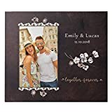 Personalized Photo Frame, Valentines Day Gifts for Him Her | 4x6 Custom Picture Frame, Gift for Boyfriend, Girlfriend Gifts | Couples Gifts…