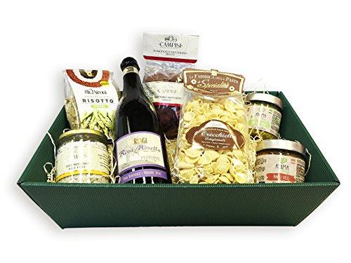 Veganer Geschenkkorb Vegan Deluxe mit ausgesuchten italienischen Spezialitäten