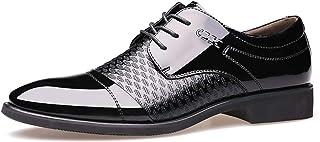 [PIRN] ビジネスシューズ 外羽根 メンズ紳士靴 オシャレ かっこいい ブラック レースアップ普段用 通気快適 ドレスシューズ くつ カジュアル プレーンヒールカジュアル プレーンヒール ポインテッドトゥ 通気性 革靴
