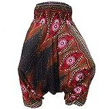 PANASIAM Aladin Pants, Print-Design-style: Peacock v13