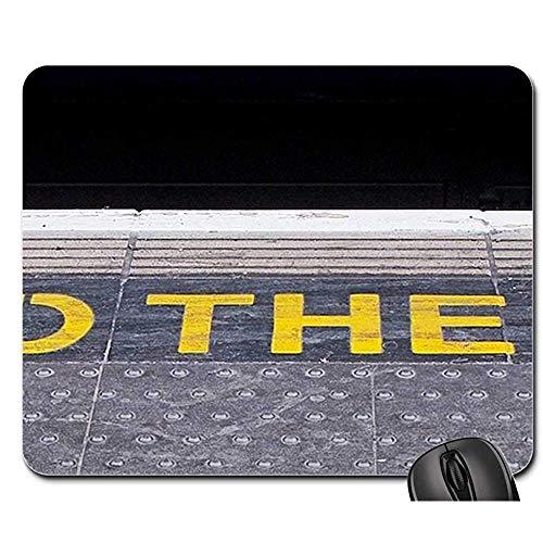 Muis Mat Spoorweg Platform Mind Gap Mind De Gap Travel Mouse Pad Muis Mat Mousepad Mouse Pads Gaming Mat 25X30cm