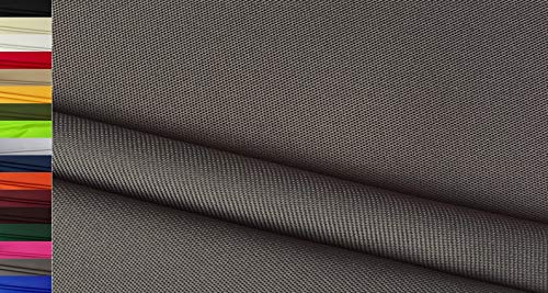 StoffBook 600D NYLONSTOFF Cordura Stoff EXTRA ROBUST Taschen Stoffe, C800 (Grau)