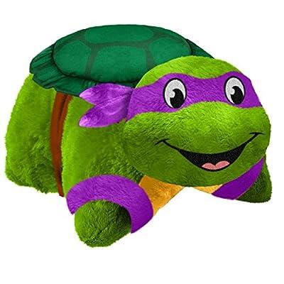 "Pillow Pets Nickelodeon Teenage Mutant Ninja Turtles Stuffed Animal Plush Toy 16"", Michelangelo"
