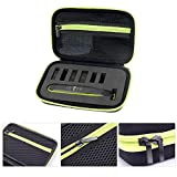 Rosymity Shockproof Waterproof and Sturdy Portable EVA Shaver Storage Bag with Mesh Bag for Philips Norelco OneBlade Men's Hybrid Electric Trimmer & Shaver (QP2520/90 QP2520/70 QP2630/70