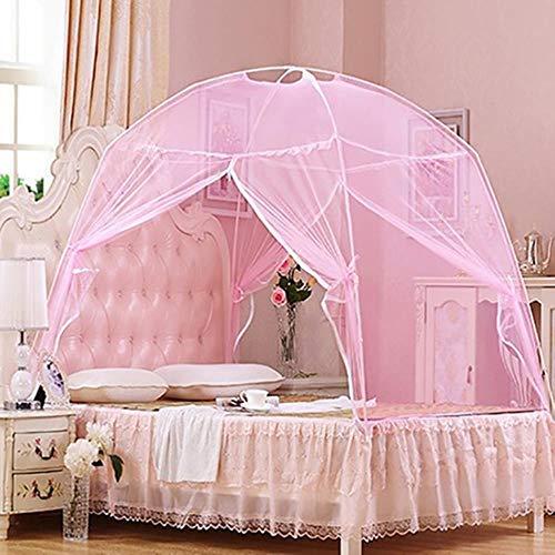 FNB Sommer Moskitonetz Zelt, Baby Erwachsene Bettwäsche Zelt Etagenbett Erwachsene Doppelbett Zelt Netz, Schwarz, 100x200cm
