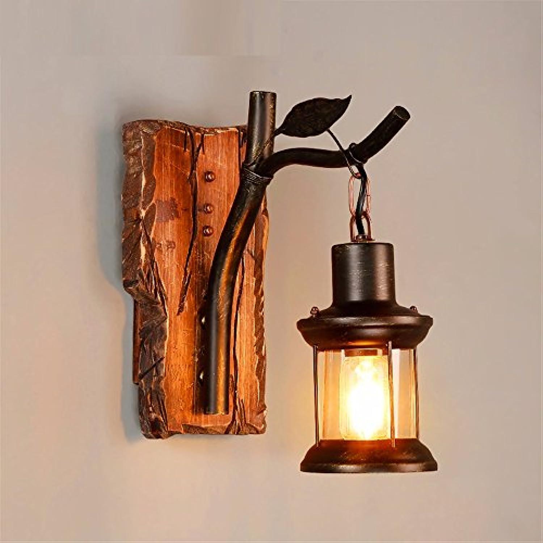 StiefelU LED Wandleuchte nach oben und unten Wandleuchten Loft antiken Holzmbeln Arts Bar Kaffee Geschfte, Restaurants, Schlafzimmer, Flure retro Glas Wandleuchte