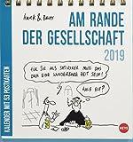 Hauck&Bauer Am Rande der Gesellschaft Aufstell-Postkartenkalender - Kalender 2019