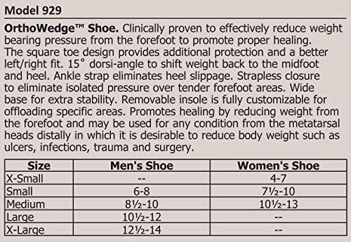 OrthoWedge Post-Op Medical Surgical Shoe 929 (L)