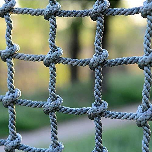 ZTMN Kinderveiligheidsnet, Speeltuin Kinderen Anti-val Netto Klimmen Lading Netto Touw Grid Ladder Bescherming Netto Balkon Banister Trapleuning Veiligheid Hek Decor Mesh