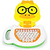 Bambiya English-Spanish Toddler Learning Tablet - Musical Educational Toy for Kids to Learn Spanish and English Numbers, Letters and Words - for Children Age 3+ Years
