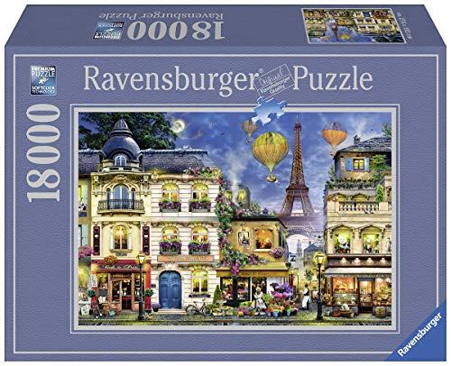 Ravensburger Puzzle 17829 - Abendspaziergang durch Paris - 18000 Teile