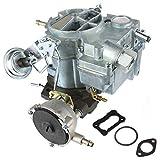 Partol 2 Barrel Carburetor Carb for Chevrolet Chevy Small Block Engines 1970-1980, 350/5.7L 1970-1975 400/6.6L - Large Base