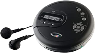 GPX PC332B Personal CD Player W/FM Radio & LCD Display Electronic Accessories