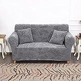 Fundas de Sofa de 3 Asientos,funda de sofá gruesas para sala de estar perros mascotas niños,juego de fundas de sofá y loveseat mejoradas para 1 2 3 4 plazas,fundas protectoras de muebles(gris)(Colo