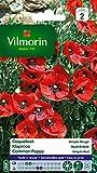 Vilmorin 5241442 Coquelicot simple, Rouge, 90 x 2 x 160 cm