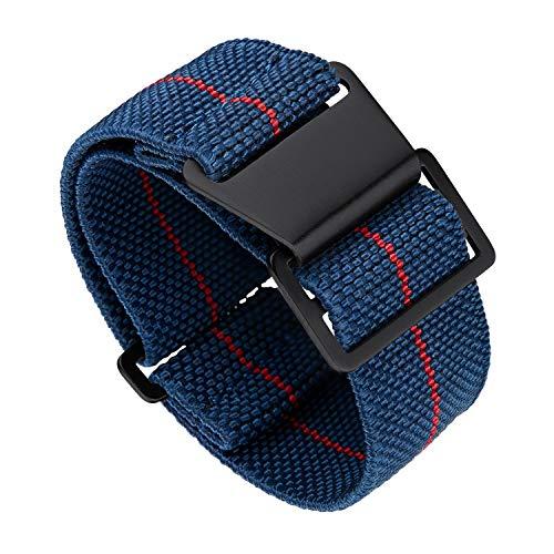 Cinturino per orologio in nylon elastico Binlun NATO di ricambio...