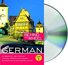 Behind the Wheel - German 1 Unabridged Edition by Behind the Wheel published by Behind the Wheel (2009)