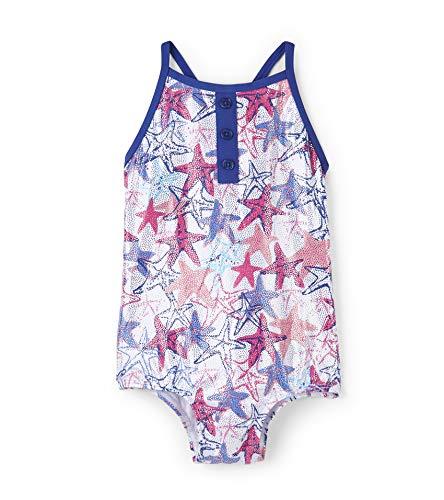 Cross Back Swimsuits, (Snazzy Starfish), (Herstellergröße: 6 Jahre)