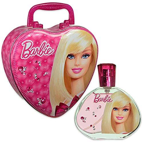 Air Val Barbie Geschenk-Set Herz-Metallkoffer, 1er Pack (1 x 100 ml)