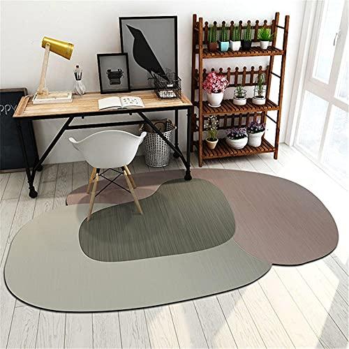 Tapis Tapis Poil Ras Tapis créatif Gris de Salon Tapis de Jeu pour Enfants Design de Forme spéciale Deco Moderne Chambre Enfant 60*160cm
