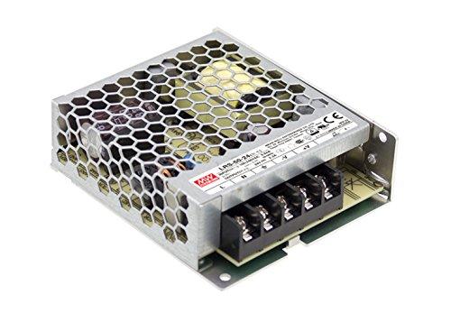 Meanwell voeding gesloten frame, 1 uitgang, VIN = 85-264 VAC, VDC = 120-370 V, 24 V, 50 W