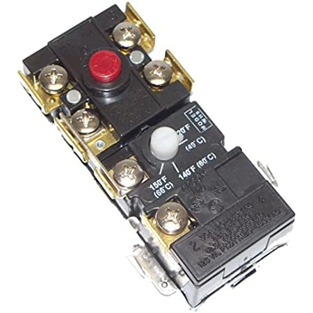 Rheem UV11699 Thermostat Black Tools & Home Improvement Water ...