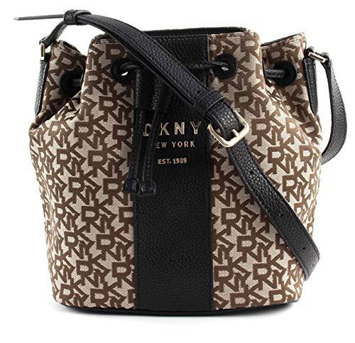 DKNY Noho Bucket Bag schwarz/braun
