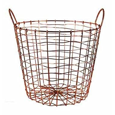 Copper Plated Storage Basket