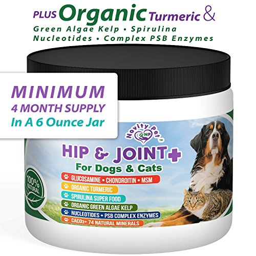 Novity Pet Natural and Organic Hip and Joint Supplement