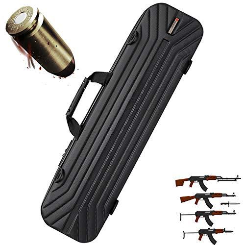TBDLG Tactical Gun Bag, Compression and Drop Hartschalengewehrkoffer, Wasserdichter Handgewehrkoffer Im Freien, Waffensammlung und Geschenke für Angelfreunde,100CM