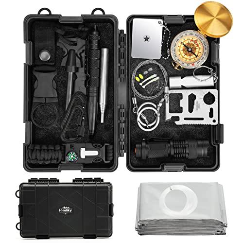 Homtiky -   survival kit 18 in