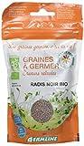 Germ'Line Graines Radis Noir à Germer BIO 150 g - Lot de 2