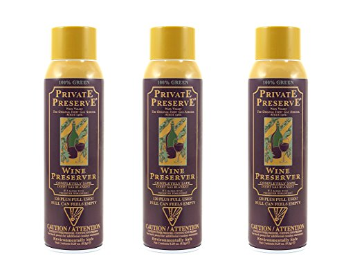 Private Preserve Wine Preservation System, Set of 3