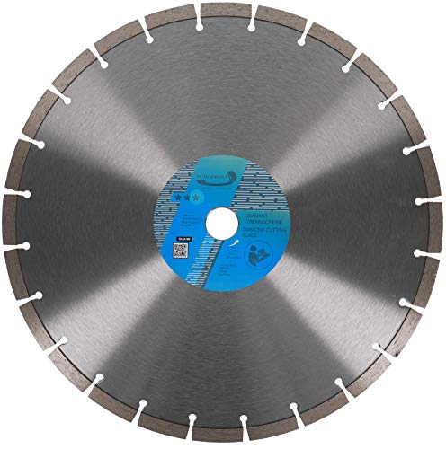PRODIAMANT Premium Diamant-Trennscheibe universal 350 mm x 25,4 mm Blocksegment Segmenthöhe 10mm