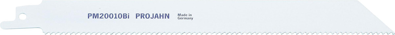 Projahn 64243 PM20010 - Hoja para sierra sable (bimetal, 200 mm, 10TPI, VE5)