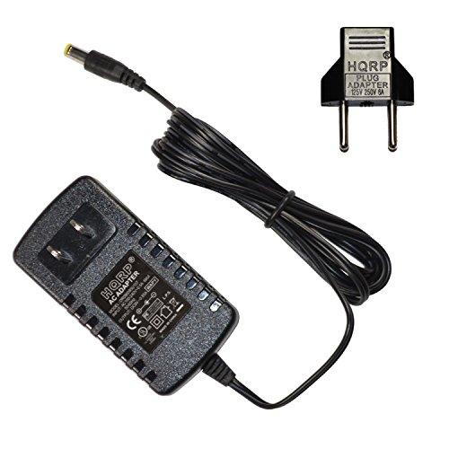 HQRP Adaptador de CA para Casio CT450, CT460, CT470, CT510, CT605, CT607,...
