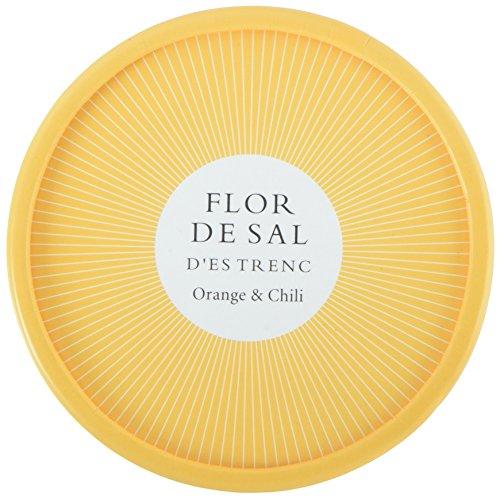 Gusto Mundial Flor de Sal d'es Trenc Orange und Chili, - Bio - 2er Pack (2 x 60 g)