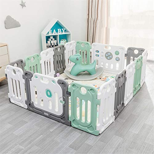 Buy Portable Playard Safety Play Playpen Anti-Skid Baby Baby Playpen Kids Activity Center Activity P...