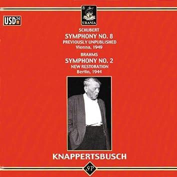 Schubert: Symphony No. 8 - Brahms: Symphony No. 2