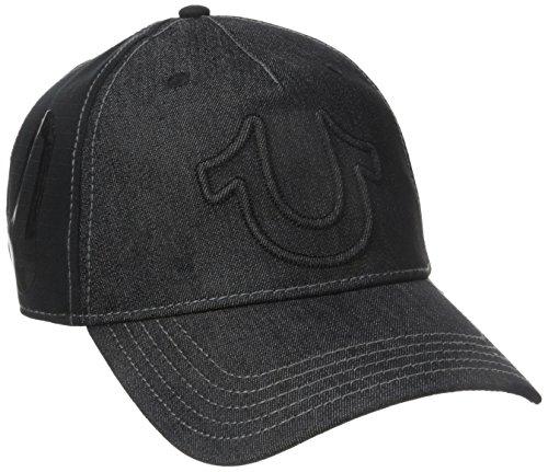 True Religion Herren Baseball Cap Hufeisen - Schwarz - Einheitsgröße