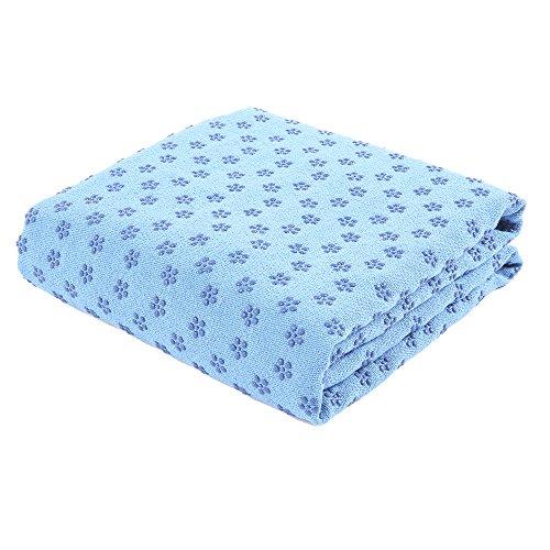 Flurysar yoga-handdoek met antislip-oppervlak