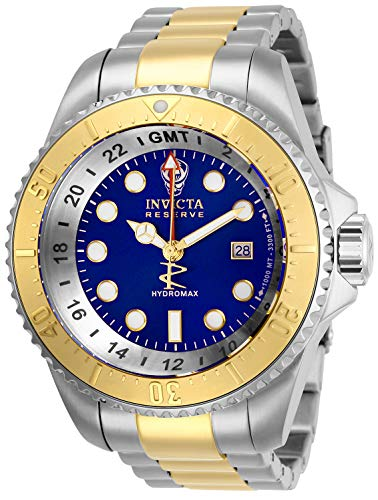 Invicta Men's Hydromax Quartz Watch with Stainless Steel Strap, Two Tone, 24 (Model: 29733)