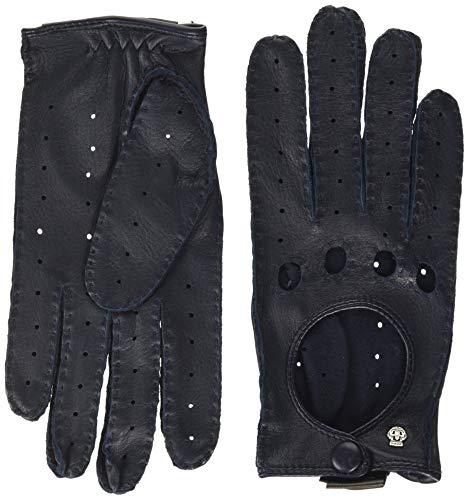 Roeckl Damen Lucca Autofahrer Handschuhe, Classic Navy, 8