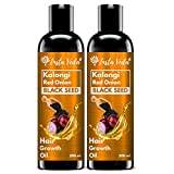 Insta Veda Pack Of 2 Pure Kalonji Onion Hair Oil | For Hair Growth & Hair Loss Control | Anti...