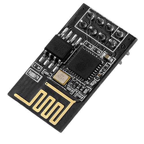 AZDelivery ESP8266 ESP-01S Serial Wireless WLAN WiFi Transceiver Module 1MB Flash 80MHz Compatible with Arduino and Raspberry Pi including E-Book!