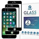 Pevita Protector de Pantalla Compatible con iPhone 6 Plus/iPhone 6S Plus. [2 Packs] Dureza 9H, Sin Burbujas, Fácil Instalación. Cristal Templado Premium para iPhone 6 Plus/iPhone 6S Plus (B)