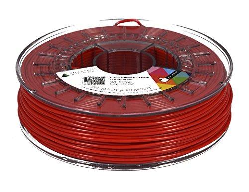 Smartfil ABS, 1.75mm, Ruby, 750g Filamento para Impresión 3D de Smart Materials 3D
