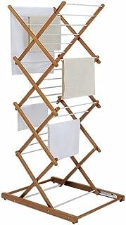Foppapedretti Séchoir à linge Noyer,Dimensions: 63x51x87,5 / 131 cm