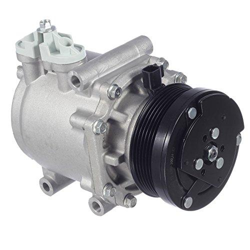 AUTEX AC Compressor & A/C Clutch CO 2486AC 78588 Compatible with Lincoln Navigator Town Car Compatible with Mercury Grand Marquis Marauder 4.2L 4.6L 5.4L 6.8L